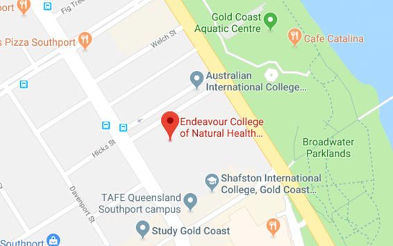 Gold Coast Campus Map for Gold Coast
